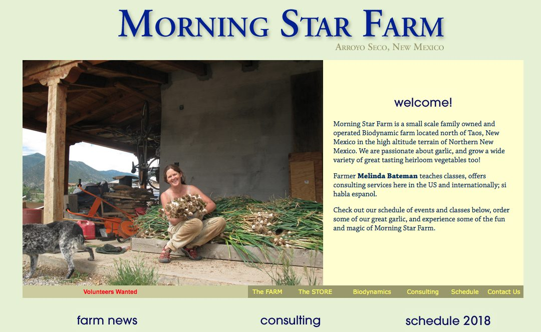 Morning Star Farm WEB
