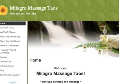 Milagro Massage Taos